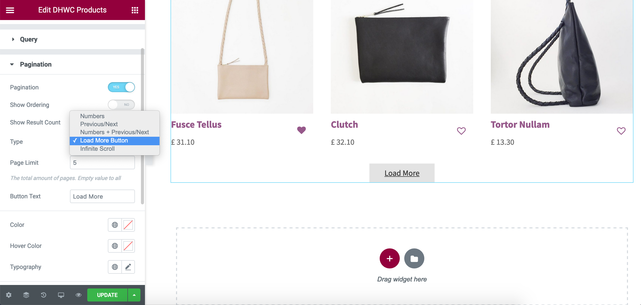 WooCommerce Products Layouts for Elementor - 4